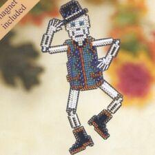 Mr Bones Halloween Bead Ornament Kit Mill Hill 2009 Autumn Harvest