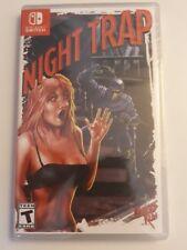 Night trap Nintendo switch neuf sous blister rare limited run