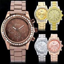 Stainless Steel Strap Round 30 m (3 ATM) Wristwatches