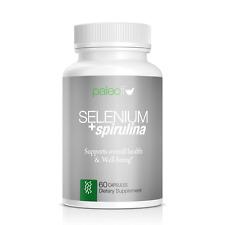 Selenium + Spirulina by Paleo Life 60 capsules
