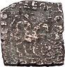 AZILISES 85BC INDO SKYTHIAN King on Horse Bull Ancient Greek Coin India i47058