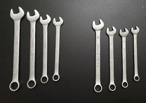 Stanley Chrome Vanadium 8 Piece SAE/Metric Wrench Set