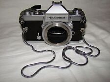 Rare Antique Nikon FT2 Nikkormat Camera Body NIKON Dent at Door & at botom