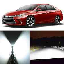 Alla Lighting High Beam Headlight 9005 White LED Bulbs for Toyota Avalon Camry