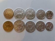GAGAUZIA Gagauziya Gagauz Gagauzja 2018 set of 5 coins ESSAI animals UNC