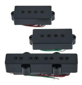 Dimarzio DP126 Model P & J Precision Jazz Bass SET Pair Pickup fit Fender Yamaha
