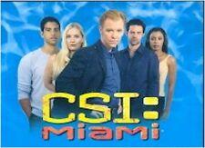 CSI Crime Scene Investigation Miami: Series 1 - 100 Card Basic/Base Set