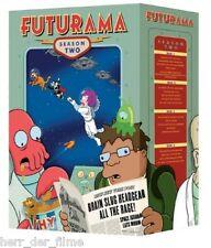 FUTURAMA, Season 2 (4 DVDs) NEU+OVP