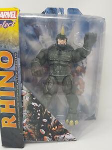 Marvel Select The Rhino Action Figure Spiderman Villain Comic Diamond Select