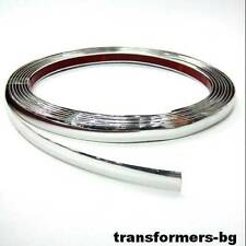25mm (2.5cm)x 13m Chrome Styling Strip Trim Car Van Truck Boat Pickup ADHESIVE