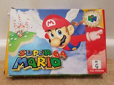 SUPER MARIO 64 -BOXED-PAL N64 NINTENDO 64 AUS