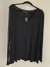 Abercrombie And Fitch Women's Viscose Top Black Size M NWT