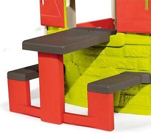 Spielhaus Kinderspielzeug Picknicktisch Smoby Kunststoff Tisch Spielzeug B-WARE