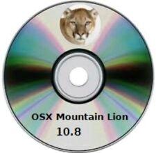 OS X Mountain Lion  DVD - Retail Version - OSX 10.8
