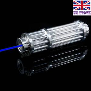 BX3-A 1MW Adjustable Focus 450nm Blue Laser Pointer Visible Laser Torch Pen UK