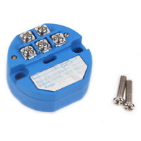 SBWZ Plastic RTD PT100 DC 24V 20mA Temperature Sensor Transmitter Module