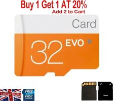 32GB Micro SD Card TF Flash Memory SDHC Card For Phone Tablet Camera UK