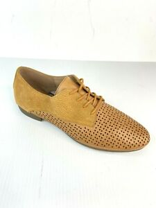 Diana Ferrari New In Box Genuine Leather Brogue Shoes Women's Size 10 RRP $170
