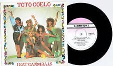 "TOTO COELO - I EAT CANNIBALS - 7"" 45 VINYL RECORD w PICT SLV - 1982"