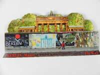 Berlin Mauer Wall Gallery Holz Souvenir Magnet,Germany Deutschland,Neu