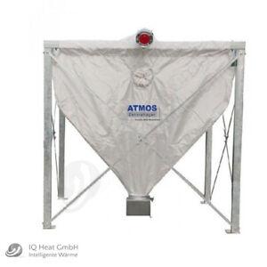Atmos Pelletsilo 4,4 m³ RH 2,2 m Pelletlager Textilsilo Sacksilo Textilspeicher