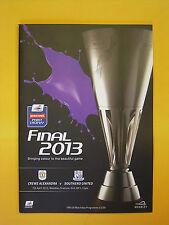 Johnstone's Paint Trophy Final - Crewe Alexander v Southend Utd - 7th April 2013