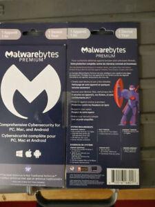 Malwarebytes Anti-Malware 4.0 Premium - 1 PC MAC / 1-Year NEW! (Latest Version)