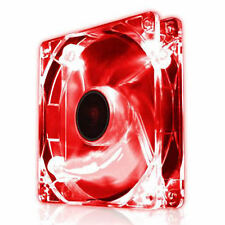 EZCool 120mm Red LED PC Case Fan Quiet Silent Fan 12cm With 3 Pin Connector