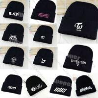 Kpop Seventeen VIXX Beanie Hat Knit Cap AOA Bigbang GOT7 Twice Block B BAP IKON