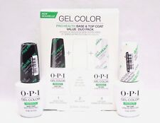 OPI GelColor Gel Color PROHEALTH Pro Health Base + Top Coat .5oz/15mL ~2ct~