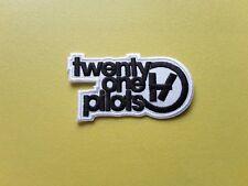 POP, ROCK, PUNK, METAL MUSIC SEW ON & IRON ON PATCH:- TWENTY ONE PILOTS