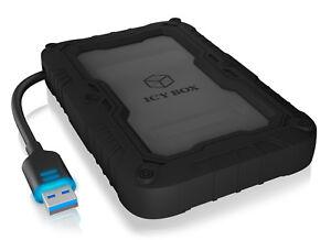ICY BOX IB-AC603PL-U3 USB3.0 externes Gehäuse inkl. 4 TB SSD Samsung 860 EVO