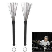 Jazz Drum Sticks Jazz Drum Brush Professional Drumsticks with Handle Tools