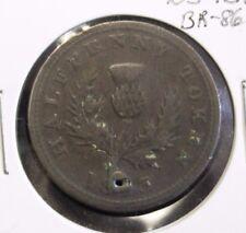 1823 Halfpenny Token Nova Scotia - NS-1B1 - BR-867