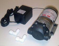 Reverse Osmosis RO 100 GPD Booster Pump + Transformer