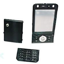Cover Gehäuse Tastatur Schale in Schwarz für Sony Ericsson  W910 W910i