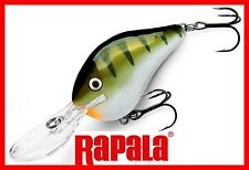 Rapala Ratting, Long Casting Balsa Dives To Yellow Perch Fishing Lure (#DT04 YP)