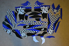 ONE INDUSTRIES CHECKERS GRAPHICS YAMAHA YZ450F YZF450 2010  2011  2012  2013