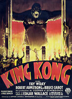 004 Vintage Movie Poster King Kong  *FREE POSTERS
