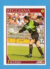 Figurina/CARD-SCORE '92-n.335- FACCIOLO - REGGIANA - NEW