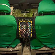 Black Nylon Car Storage Luggage Hooks Hanging Organizer Holder Seat Bag Mesh Net