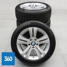 """Genuine BMW serie 3 4 17"""" 392 5 doppio ha parlato cerchi in lega Set pneumatici Continetal"""