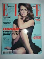 Magazine mode fashion ELLE French #3470 29 juin 2012 Penelope Cruz