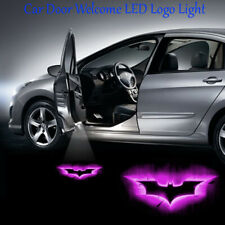 Purple Bat Dark Knight LED Car Door Logo Projector Laser Ghost Shadow Light