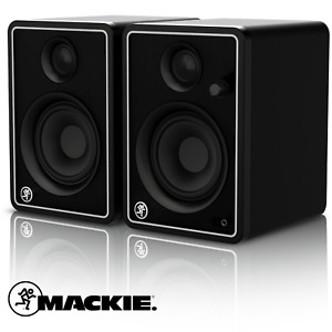 Mackie CR4X Monitors - Limited Edition Silver - includes Pro Tools & 23 Plugins