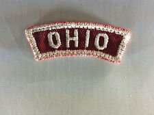 Ohio RWS Red & White State Strip