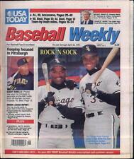 Frank Thomas Tim Raines Chicago White Sox USA Today Baseball Weekly Apr 25 1991