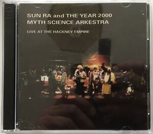Sun Ra - Live At The Hackney Empire double CD (1990 recording) out of print