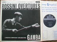 SXL 2266 WBG ED.1: ROSSINI OVERTURES / GAMBA / PHILHARMONIA: NM-