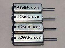 4 Pcs K9C 3V-3.7V DC Strong Magnetic High Speed Mini DC Motor 426BB 25000RPM